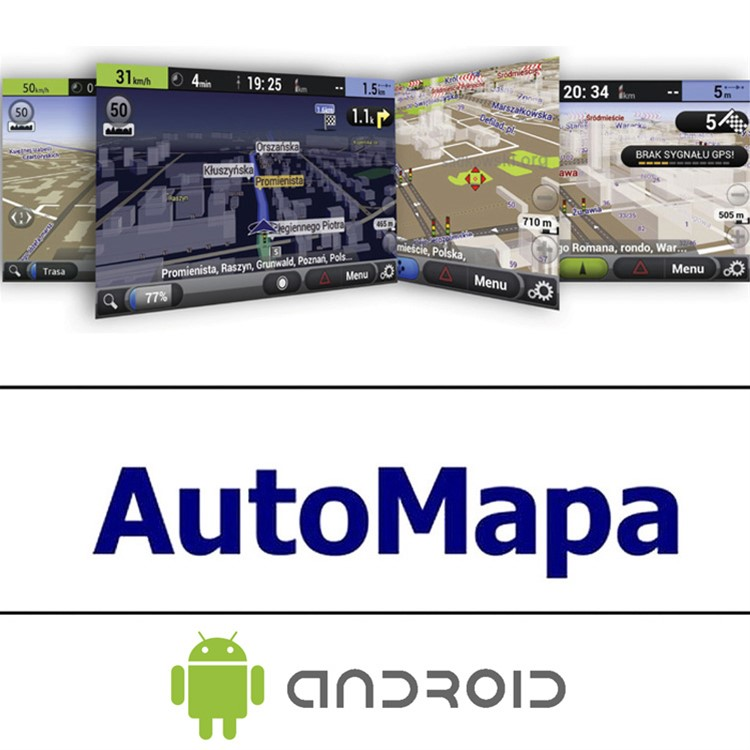 1-roční licence Europa Android Automapa A-1y